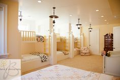 Unreal Kids Bunk Room.  The Bloomfields have such amazing design taste.