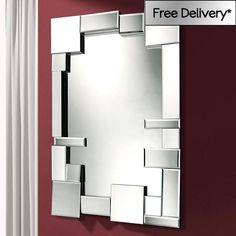 Facet Mirror 126 x 80 x 6cm Facet Mirror 126 x 80cm | Exclusive Mirrors [EE2591] - �297.39 - Mirrors for Every Interior from Exclusive Mirrors