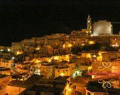 Instant Download, Italy, Italy Photography, Italy Decor, Puglia, Matera, Sassi, Print, Home Decor, Photograph, Fine Art