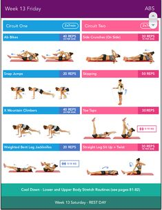 Week 13, Friday, BIKINI-BODY-GUIDE-2.0-KAYLA-ITSINES
