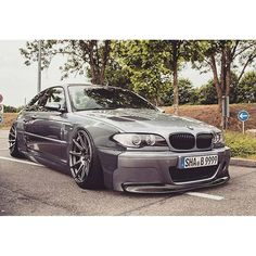 @Regrann from @benson346csl -  just a render. may big thinks are comin'. #camber #recaro #bmw #e46 ...