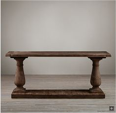 Restoration Hardware Look Alikes Save Shades Of Light Vs Barade Salvaged Wood Console Table