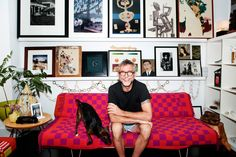 An intimate look at Todd Oldham's home life after leaving the garment trade industry behind.