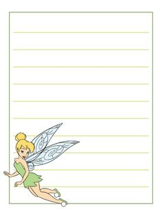 Journal Card - Tinker Bell - lines - 3x4 photo: A little 3x4inch journal card to brighten up your holiday scrapbook! Click on options - download to get the full size image (900x1200px). Clipart belongs to Disney. ~~~~~~~~~~~~~~~~~~~~~~~~~~~~~~~~~ This card is **Personal use only - NOT for sale/resale/profit** If you wish to use this on a blog/webpage please include credits AND link back to here. Thanks and enjoy!! This photo was uploaded by pixiesprite