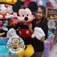 boneka mickey mouse ukuran besar