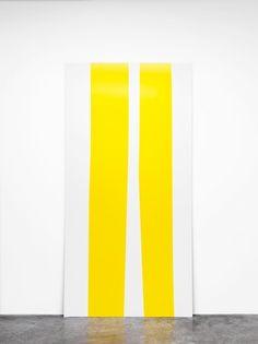 Davis Rhodes, avis Rhodes Untitled, 2011 enamel on foam board 243,8 x 121,9 cm