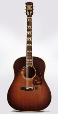 Gibson SJ Southern Jumbo Flat Top Acoustic Guitar Presented to Captain Roland Smoot of the U.S.S. Newport News, c. 1948