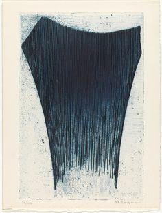 """Anna-Eva Bergman """"Norden"""" 1958 Fargeradering,"""
