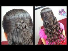 Nudo Chino y Esterillado o Tejido Canasta - Basquet Weave | Peinados para Niñas | Trenzas y Peinados - YouTube