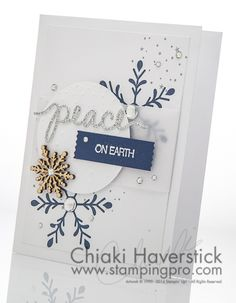 Christmas Card Class 2015 #2: Peace on Earth