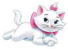 Disney Pixar, Disney Cartoons, Walt Disney, Disney Characters, Marie Cat, Gata Marie, Marie Aristocats, Preschool Writing, Disney And More