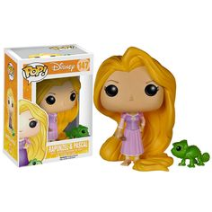 Tangled POP Rapunzel And Pascal Vinyl Figures