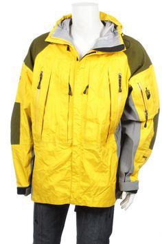 e7fee6a19d Vintage 90s Nike Goose Down Puffer Jacket Black  Gray Size L