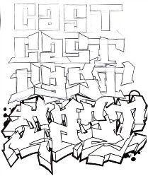 There are 4 steps to make graffiti. How to create a sketch graffiti alphabet as shown. Graffiti Alphabet Styles, Graffiti Lettering Alphabet, Graffiti Writing, Graffiti Font, Graffiti Tagging, Graffiti Designs, Graffiti Murals, Graffiti Styles, Street Art Graffiti