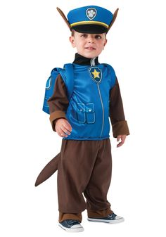 Chase is on patrol and isn't taking any gruff from anybody! Suit your child up in this great Paw Patrol: Chase Child Costume!