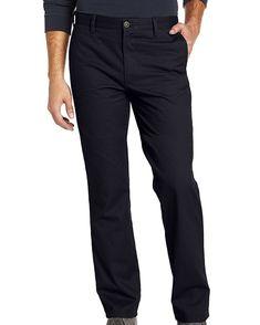 $240 Tommy Hilfiger Mens Blue Modern Fit Flat Front Trousers Dress Pants 36w 30l