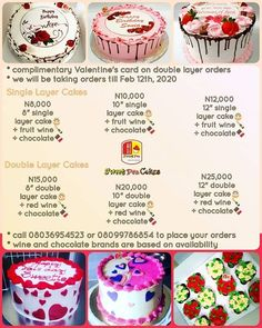 The month of love starts tomorrow. We got your back this Valentine's with options you can choose from. We cannor leave you stranded nah you know how we do . Call us on 08036954523 08099786954 to place your order for that babe or guy . Valentines Sale, Valentines Day Treats, Valentine Box, Single Layer Cakes, Valentine Chocolate, Babe, Guy, Fruit, Instagram
