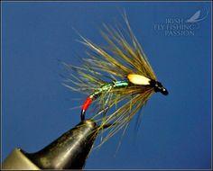 Irish fly fishing passion: Green Snatcher-Kristof variant.