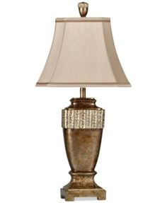 """StyleCraft """"Conway"""" table lamp for home library"""