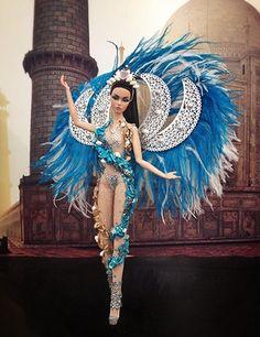 #Puerto Rico #national #costume [missbeautydoll] 24..2 qw