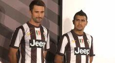 Presentazione nuove maglie Juventus 2012-2013