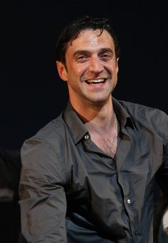 Raul Esparza, after making it rain in Leap of Faith!
