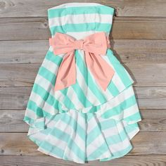 The Stevie Stripe Dress
