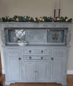 Shabby Chic Dresser / sideboard by ChangingLightDesigns on Etsy