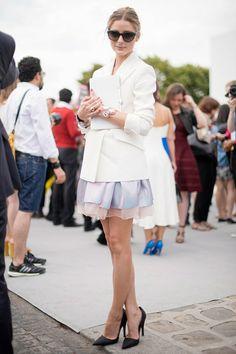 Olivia Palermo At Fashion Week. Olivia Palermo Street Style f1e2674dd2a