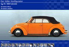 Der Käfer Konfigurator - by de Groote.  Click on the image to open Der Käfer Konfigurator in a new window.