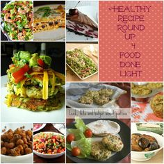 Healthy Recipe Round Up #4 #fooddonelight