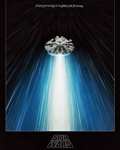 An alternative movie poster for the film Star Wars: Episode IV - A New Hope, created by Michael Friebe, featured on AMP. Nave Star Wars, Star Wars Film, Star Wars Poster, Star Wars Art, Star Trek, Sith, Tatoo Star, Star Wars Episode Iv, Nostalgia