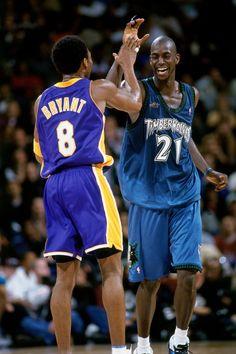 The Sports Alley: Classic NBA Throwbacks: Kobe Bryant and Kevin Garnett