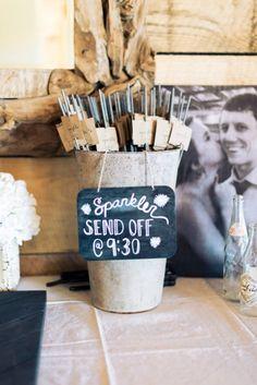 Sparkler send off! Wedding Send Off, Wedding Thank You, Our Wedding, Dream Wedding, Wedding Ideas, Wedding 2017, Wedding Stuff, Chic Wedding, Wedding Signs
