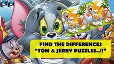 FIND THE DIFFERENCES - HOW GOOD ARE YOUR EYES? QUICK EYE TEST    TOM & J... Animated Cartoons, Cool Cartoons, Tom J, Emoji Quiz, Funny Riddles, The Odd Ones Out, Cartoon Fun, Brain Training Games, Right Brain