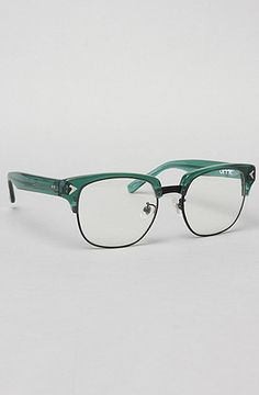 The Malcolm Eyeglasses in Green