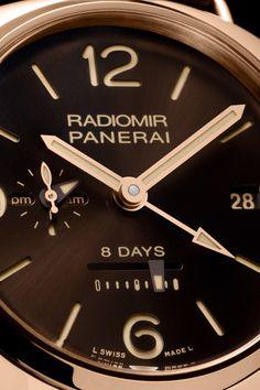 Panerai Radiomir 8 Days GMT Oro Rosso