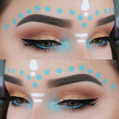 "Gefällt 1,223 Mal, 45 Kommentare - Zuly Ruiz  (@beautywithzulyy) auf Instagram: ""Music Festival Inspired  I had so much fun creating this look. AND I filmed a tutorial!  Let me…"""