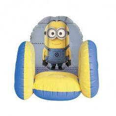 Despicable Me Minions Flocked Chair
