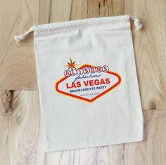 LAS VEGAS Personalized Favor Bags by foryourlittlemonkey on Etsy