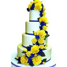 Wedding-Cakes | Carlos Bakery: Cake Boss Wedding Cake W167 | TheRingBearer.ca found on Polyvore