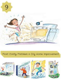 9 most costly mistakes in diy home improvement - these diyers paid the price for their great goofs. read on for some of the most expensive mistakes in home improvement history.