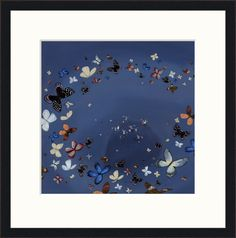 Circle of Butterflies by Jenni Murphy available at Love Art Gallery http://www.loveartgallery.co.uk/artists/1013/1968/jenni-murphy/circle-of-butterflies?r=artists/1013/jenni-murphy