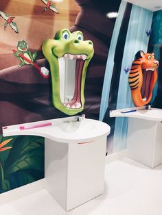 Tooth brushing lessons at Happy Kids Dental Paediatric Dentist London.