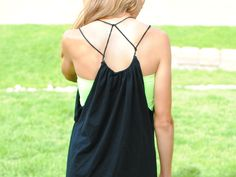 DIY Strappy Summer Dress From T-shirt from Trash to Couture
