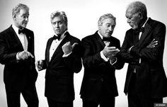 Kevin Kline, Michael Douglas, Robert DeNiro, Morgan Freeman