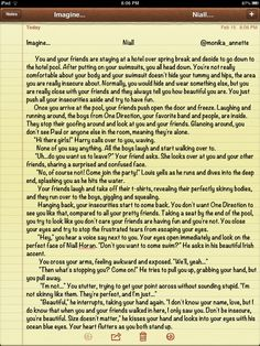 #niallimagine Niall imagine I wrote! First one! Comment me your thoughts pleeaasseee:)) xx part 1