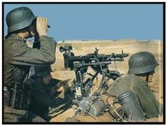 German crew with MG-42.