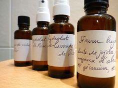 hydrater sa peau : la recette du sérum hydratant - sérum huile végétale jojoba, noyaux abricot, huiles essentielles. Slow Cosmétique- Une semaine à Paris-Forêt