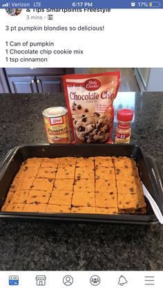 15 min at 350 3 pets for of box My WordPress Web Ww Desserts, Weight Watchers Desserts, Delicious Desserts, Dessert Recipes, Yummy Food, Tasty, Easy Fall Desserts, 100 Calorie Desserts, Weight Watchers Brownies